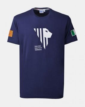 Men's blue t-shirt front