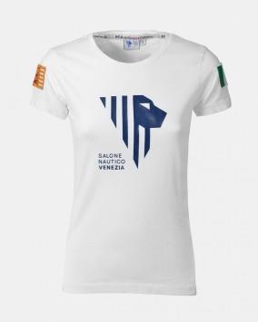 Women's white t-shirt front