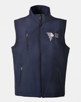 softshell vest front