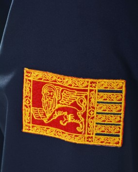 Softshell with hood Republic of Venice detail