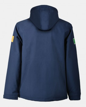 Softshell with hood, back