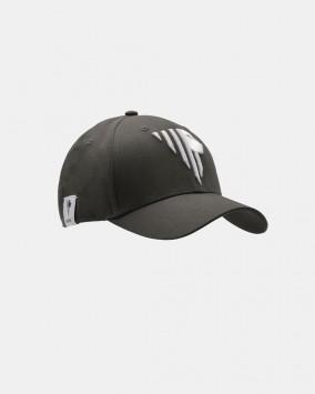 Dark grey baseball cap white stylised lion Venezia logotype front